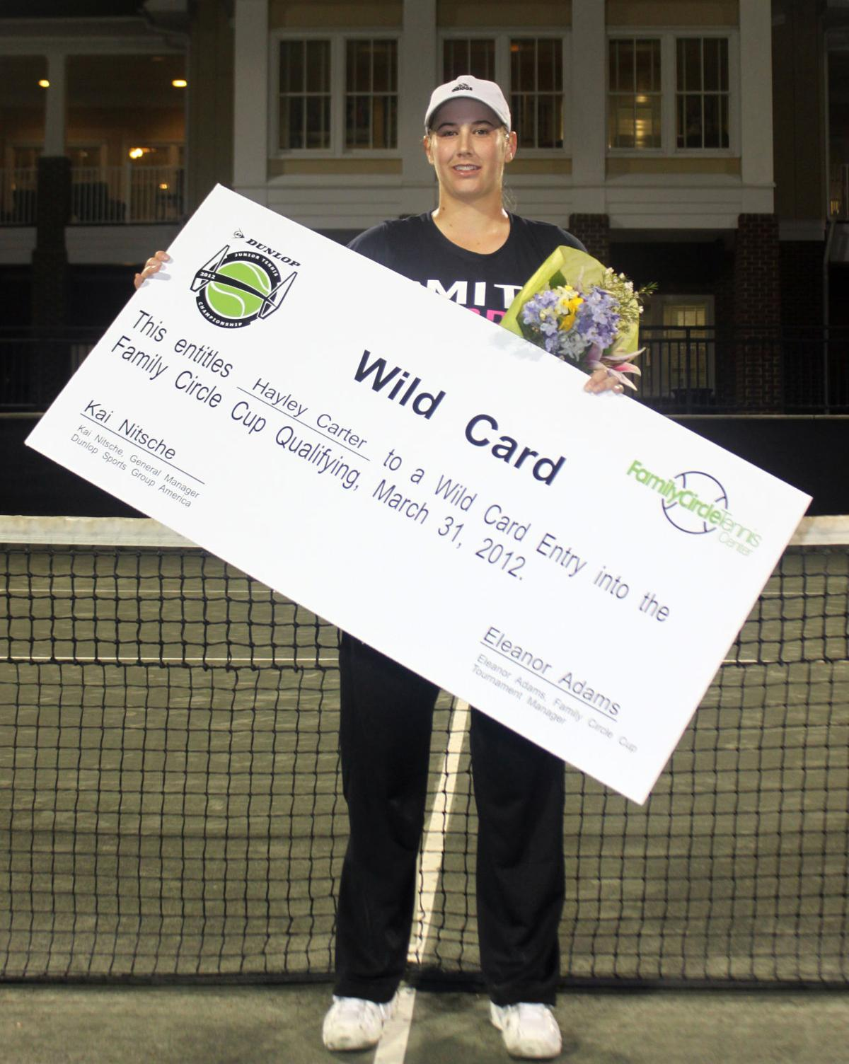 Columbia native earns Family Circle Cup wild card
