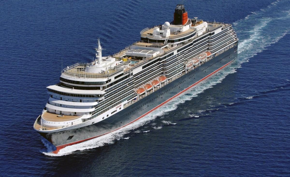 Cunard cruise ship in Charleston; Queen Victoria had to nix 2007 port call
