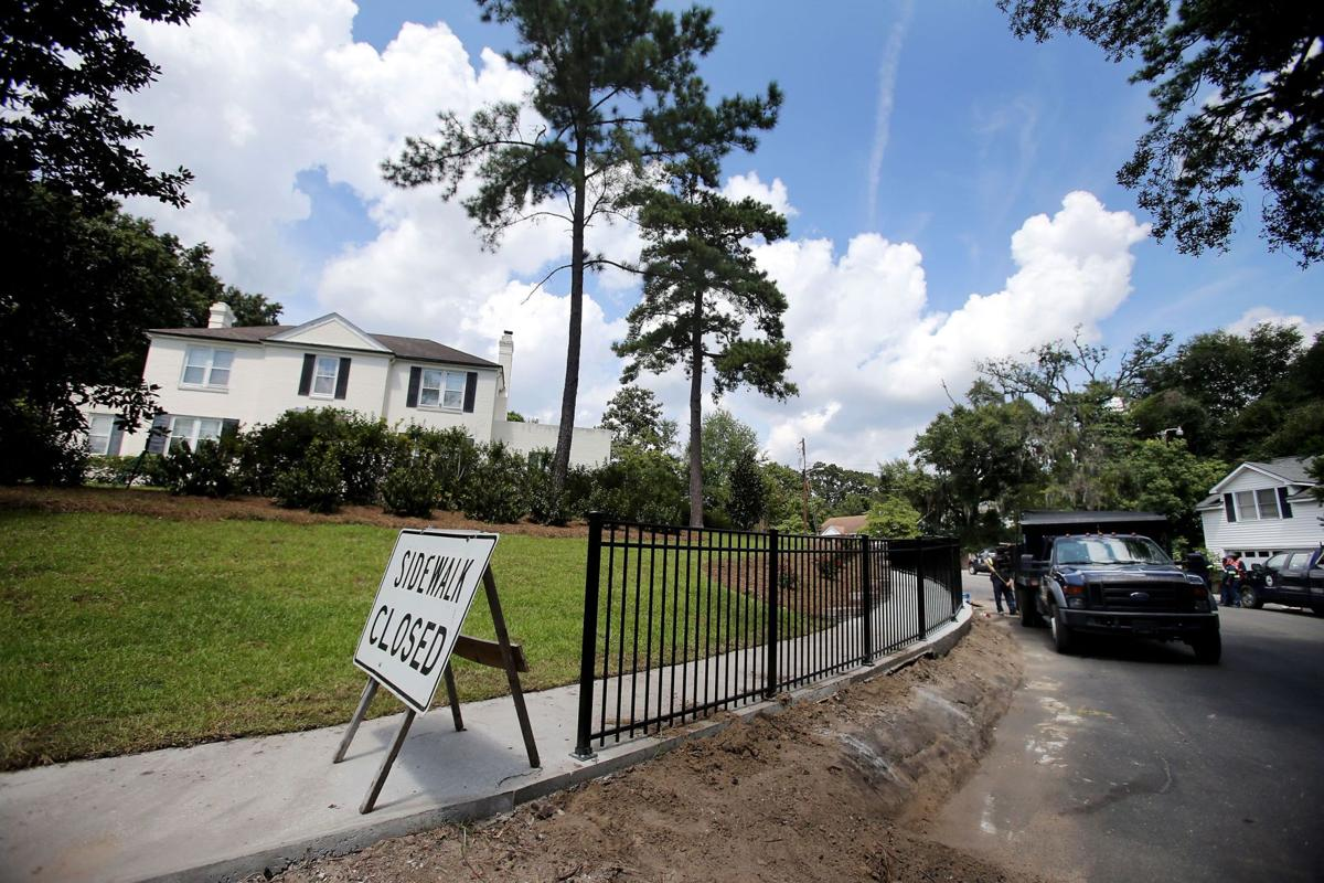 Neighbors question city landscaping work at home owned by N. Charleston mayor's son