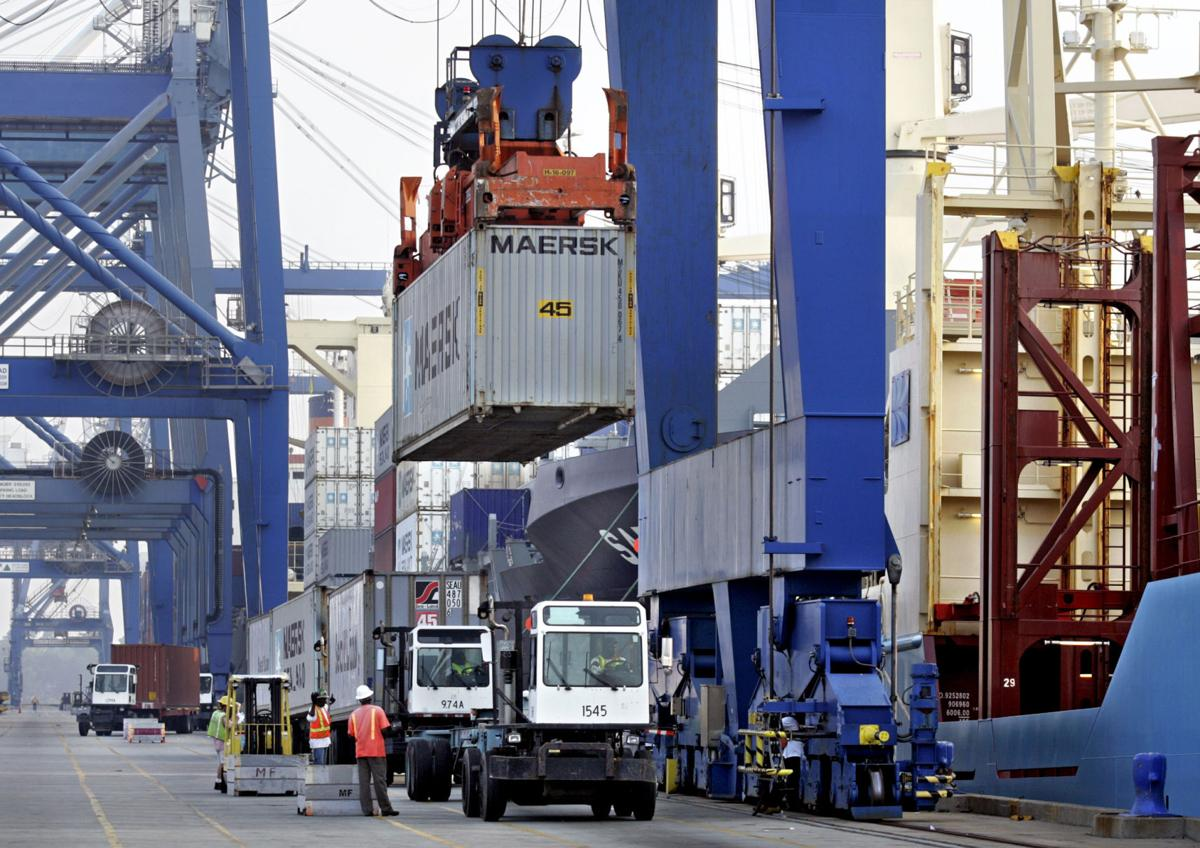 Charleston-area exports grow Reports show busy S.C., Ga. ports