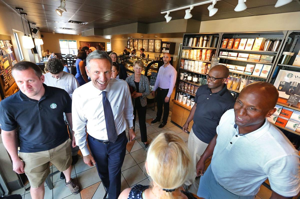 Church shooting tragedy brings Starbucks' CEO to Charleston