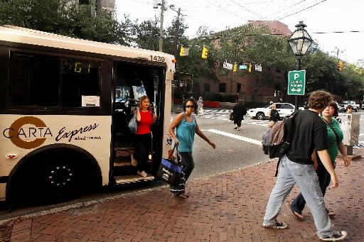 Schools make it easy to ride bus