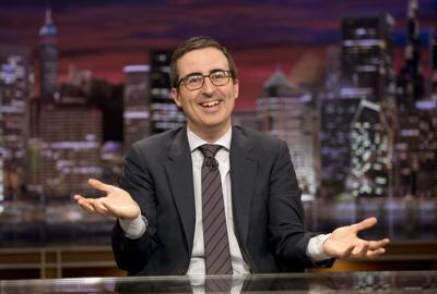John Oliver, about to return to HBO, and his secrecy policy