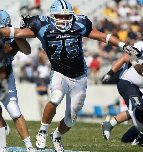 Army plans are on hold for Citadel's Thornton