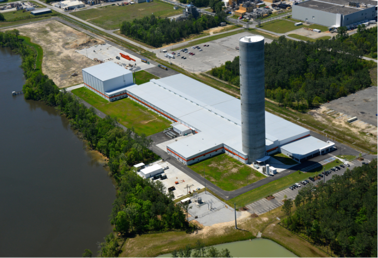 Nexans plant in Goose Creek