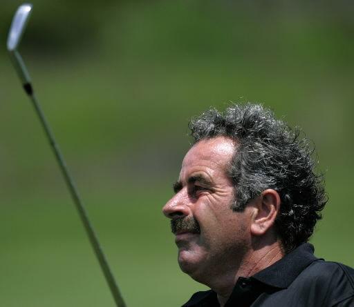 Practice round at the Senior PGA Championship