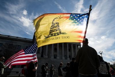 Columbia Trump protest