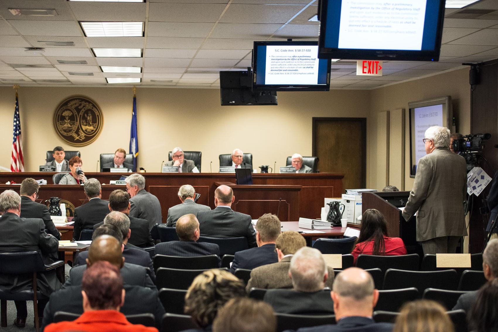 POST AND COURIER – SC utility regulators drop consultant with deep ties to state's largest power companies