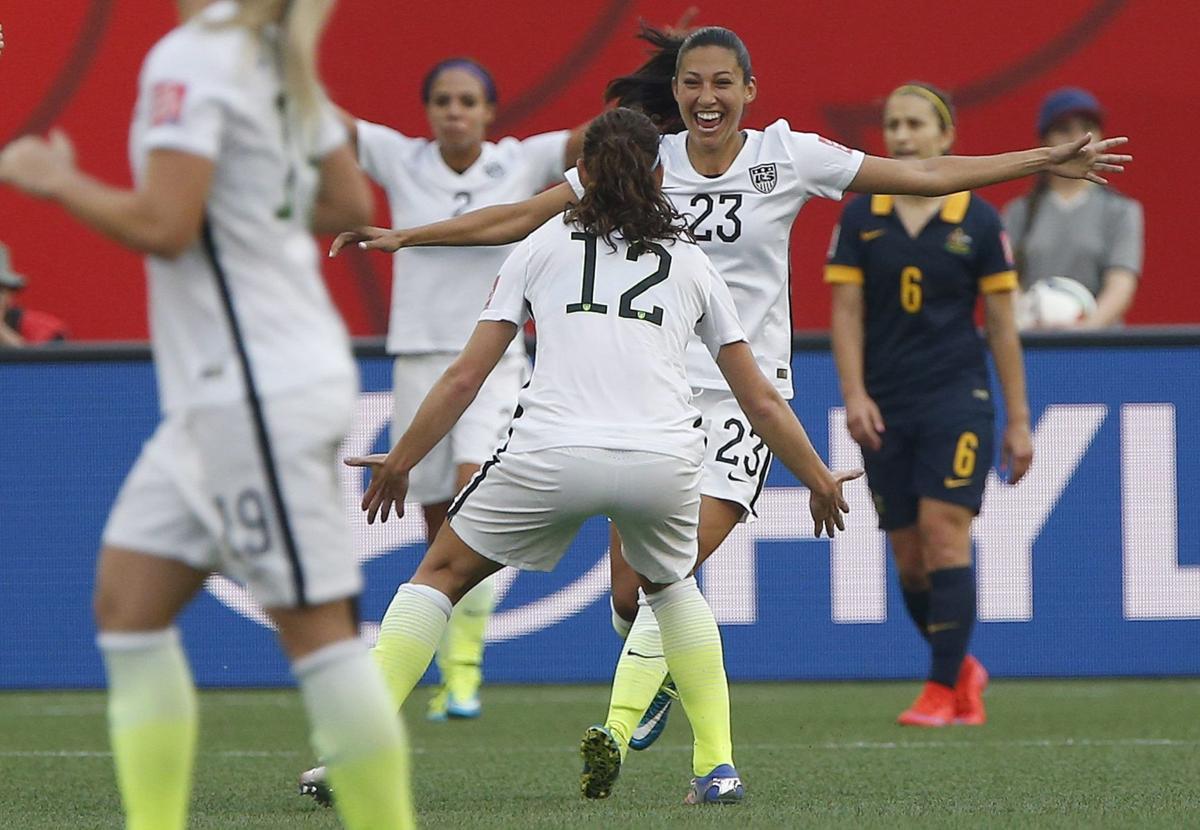 U.S. women pass first World Cup test