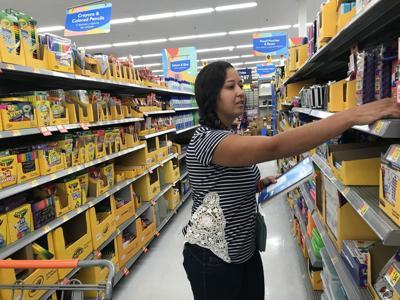Walmart back-to-school shopper