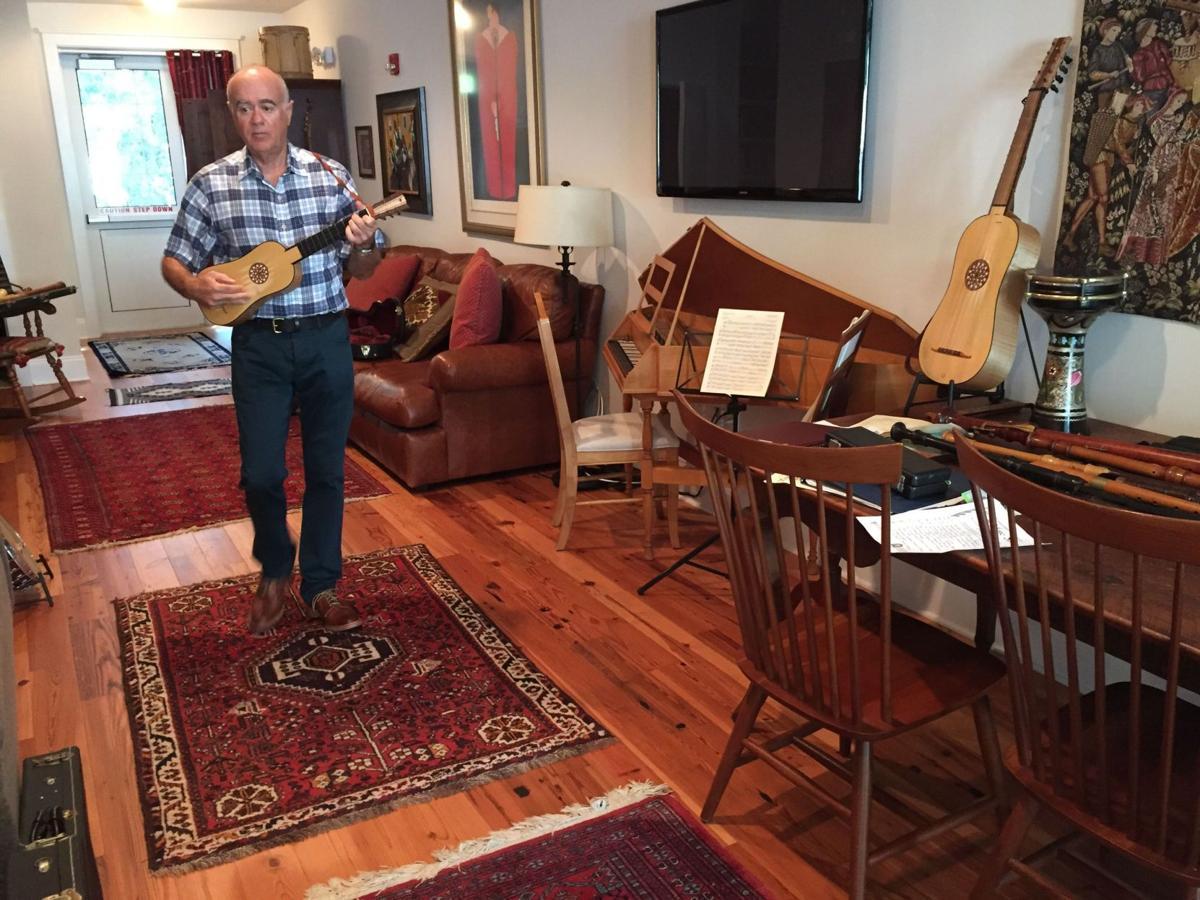Rosenberg's passion for early music enhances director's job