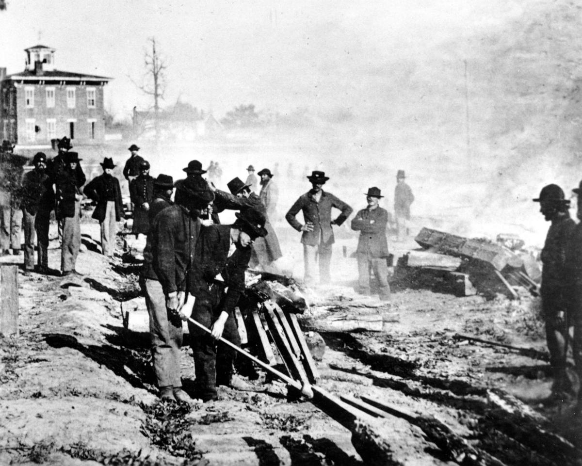 Would a North-South railroad have prevented the Civil War?