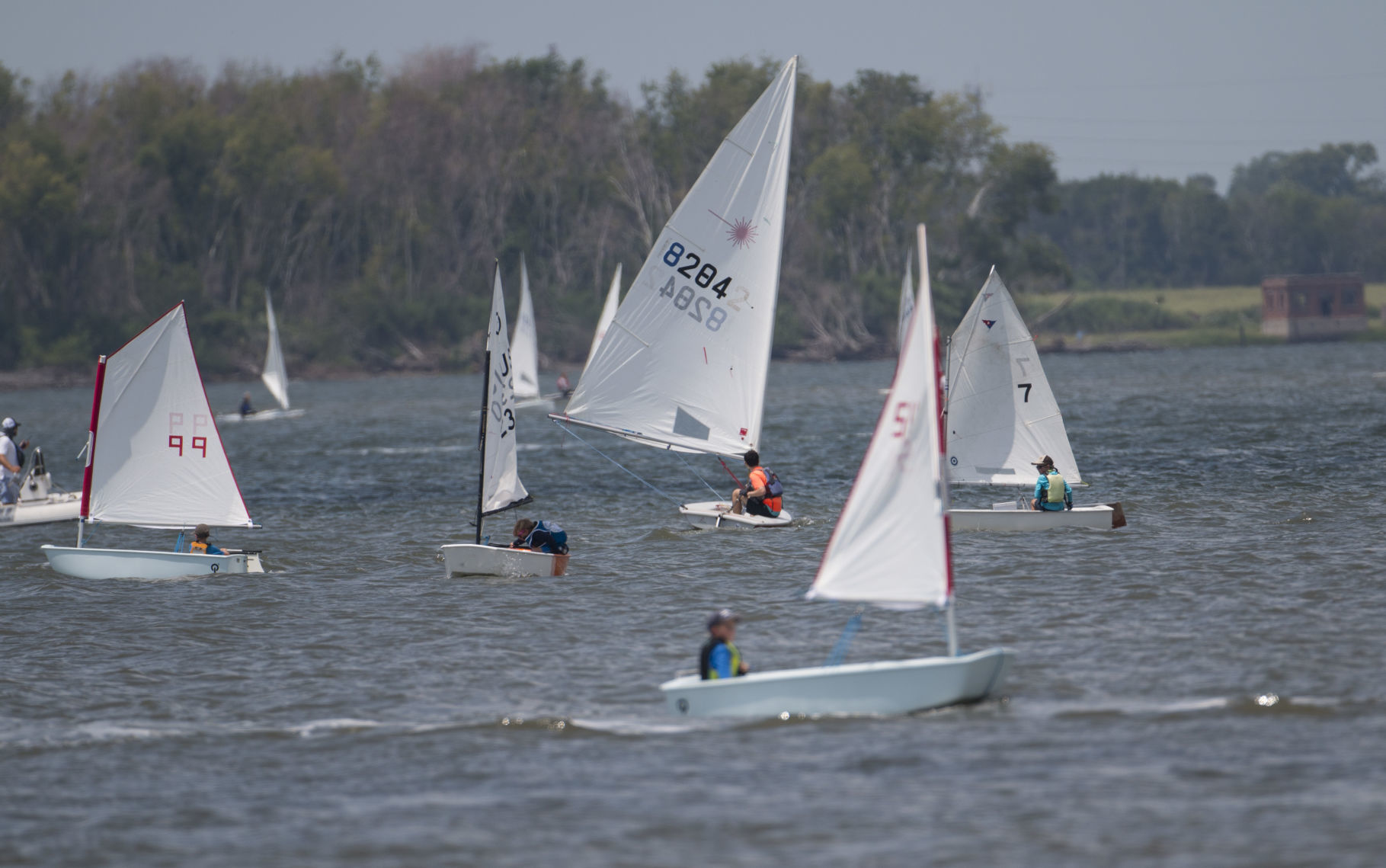 Day one of the Hobcaw Yacht Club Open Regatta | Post and Courier