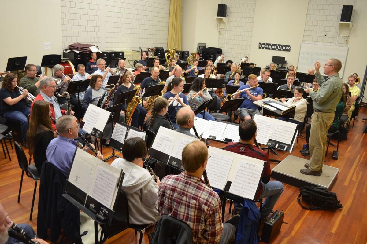 Aiken Community Band Christmas Concert 2020 Aiken Concert Band set to present 'most challenging' program of