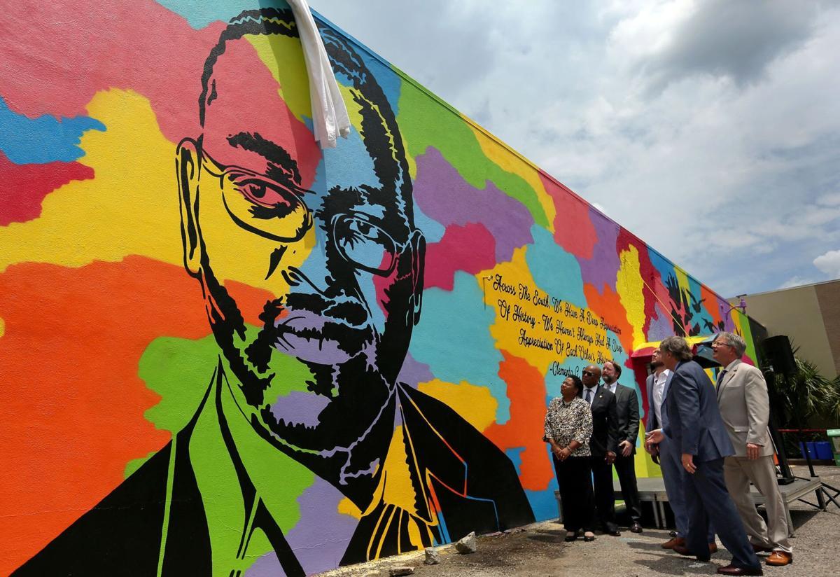 Mural honoring Emanuel Victims at Redux