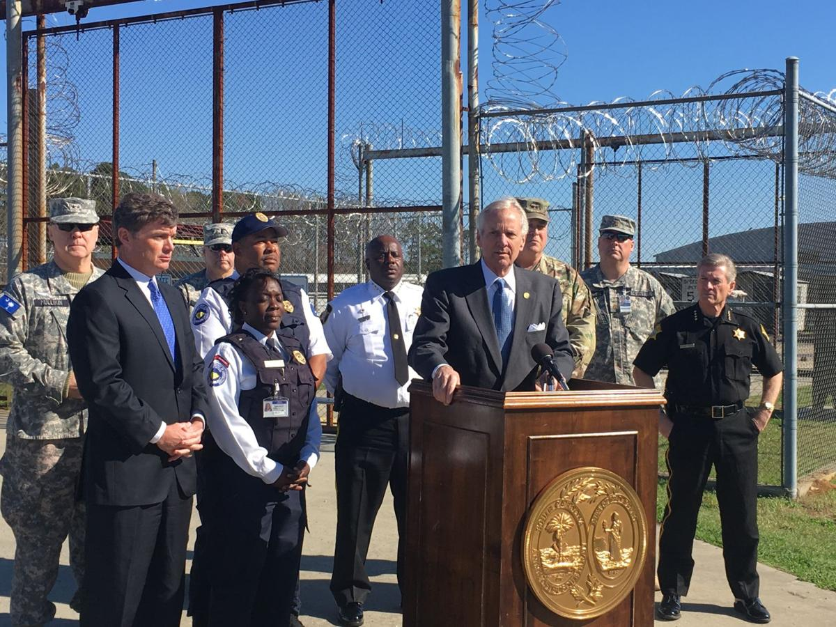 Gov. Henry McMaster and corrections and contraband