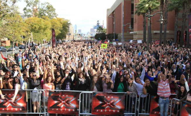 'X-Factor' auditions Hopefuls come to Charleston for a shot at stardom on televised singing competition