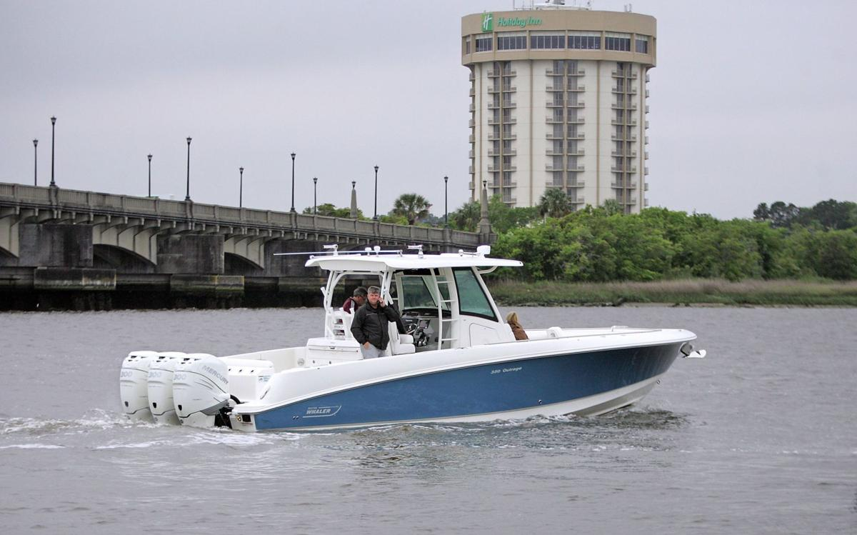 Whale of a Boat — New 35-footer from one of America's most respected brands meets many boating needs