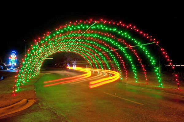 New light show brings $36,500 for charities