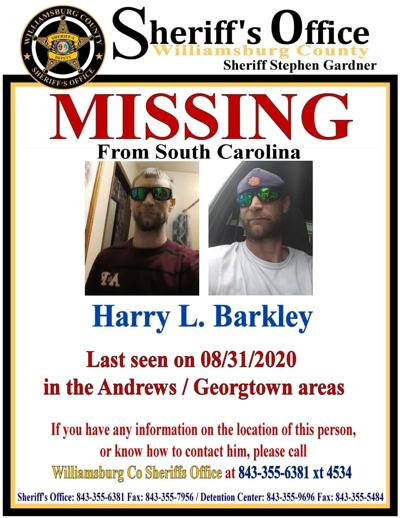 Missing person Harry Barkley
