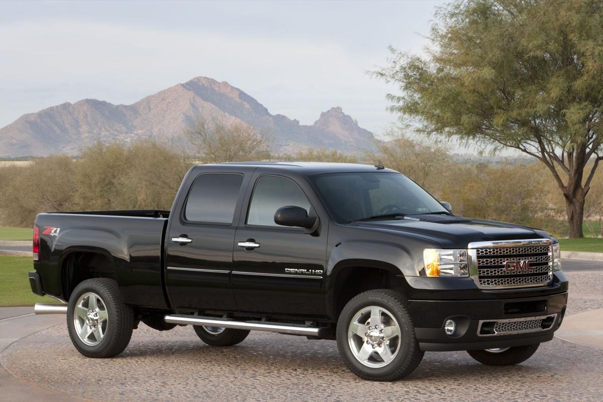 New GMC Sierra Denali 2500 a powerful, heavy duty pickup that's smooth riding and versatile as well