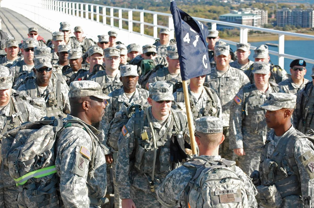 Passing of the colors