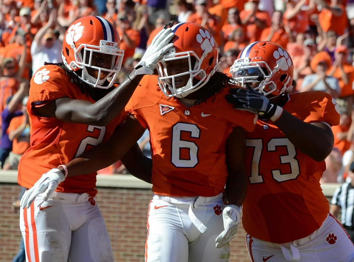 Clemson's talented receiving corps could be the nation's best