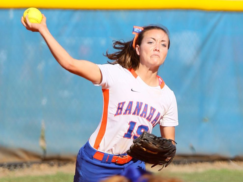 Moffett has Hawks in hunt for softball title