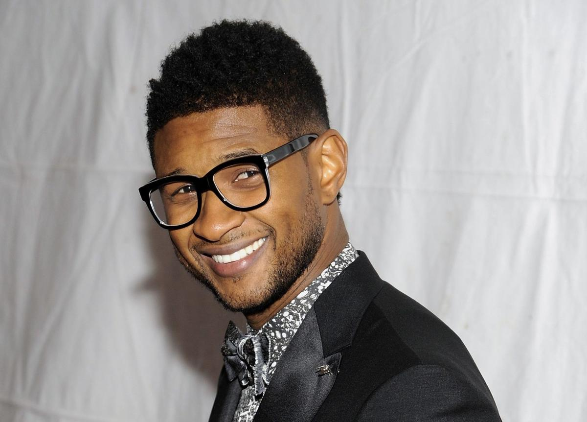 Usher gets ready for film role as Sugar Ray Leonard