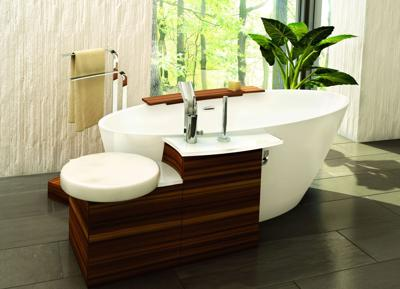 Style and comfort in the bath