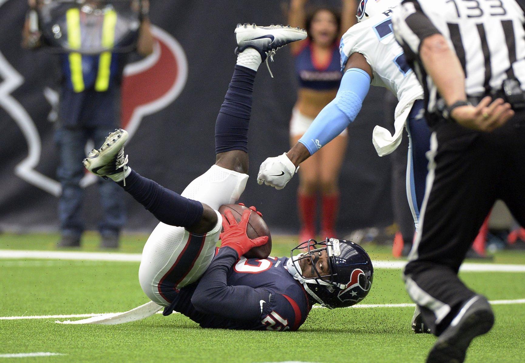 Houston Texans wide receiver Bruce Ellington 12