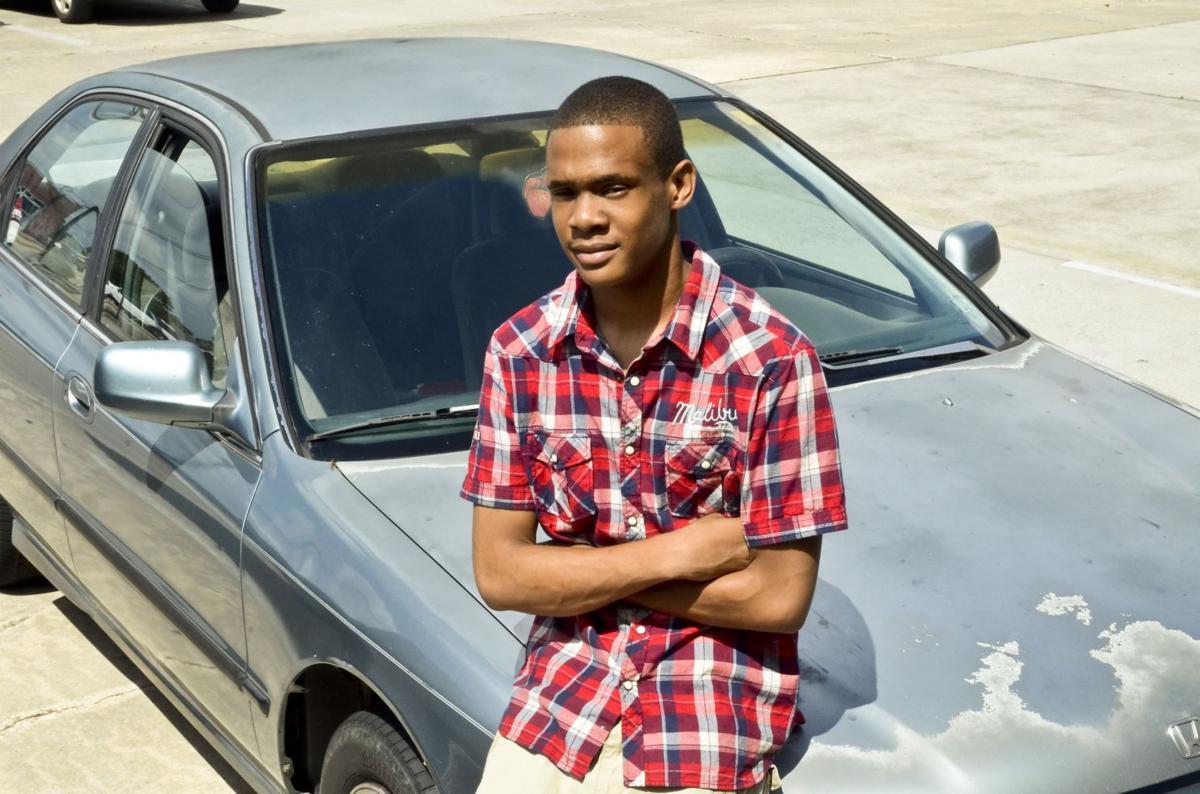 Orangeburg teen drives car he was born in