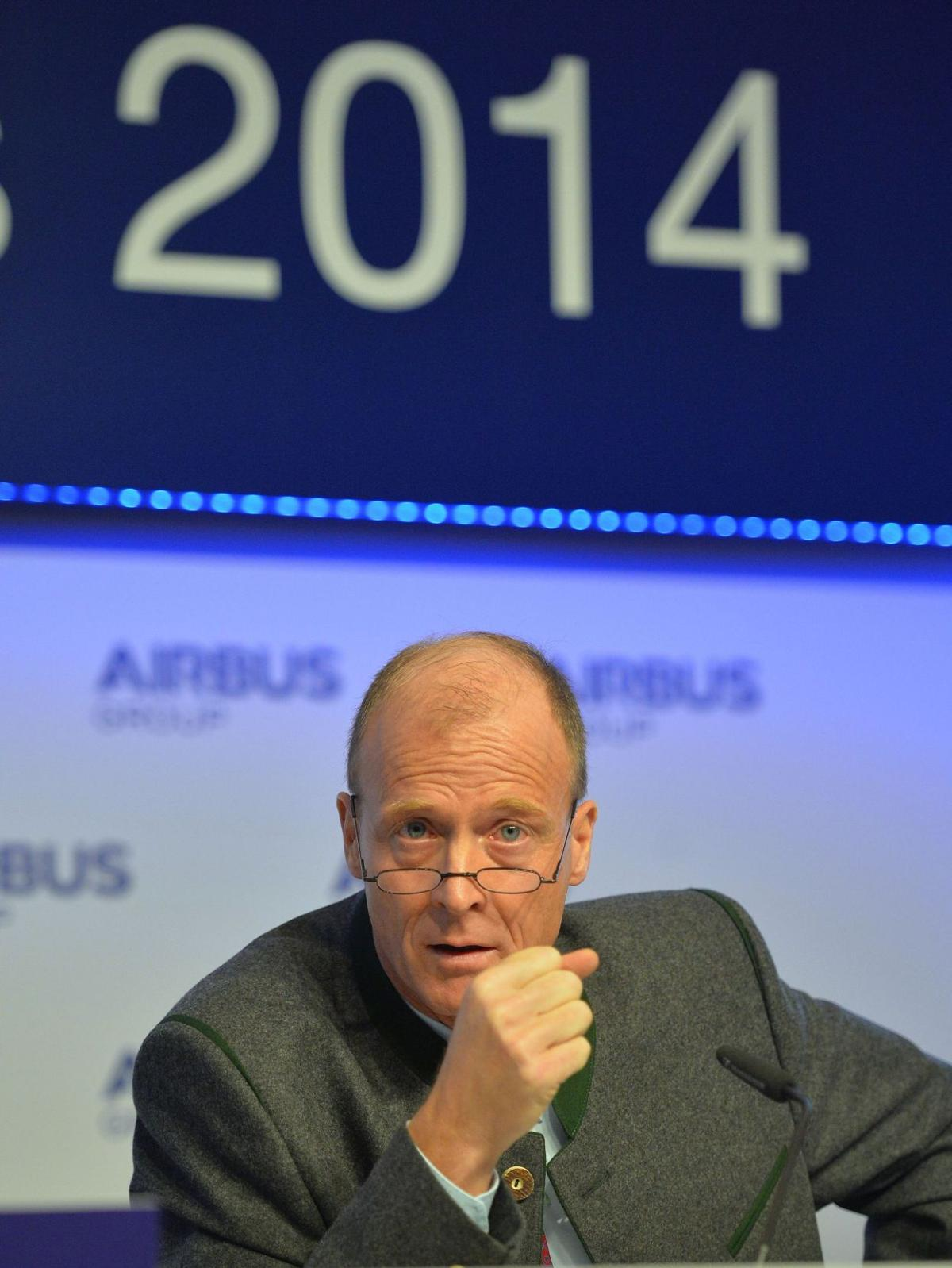 Being rival Airbus says net profit soared in 2014