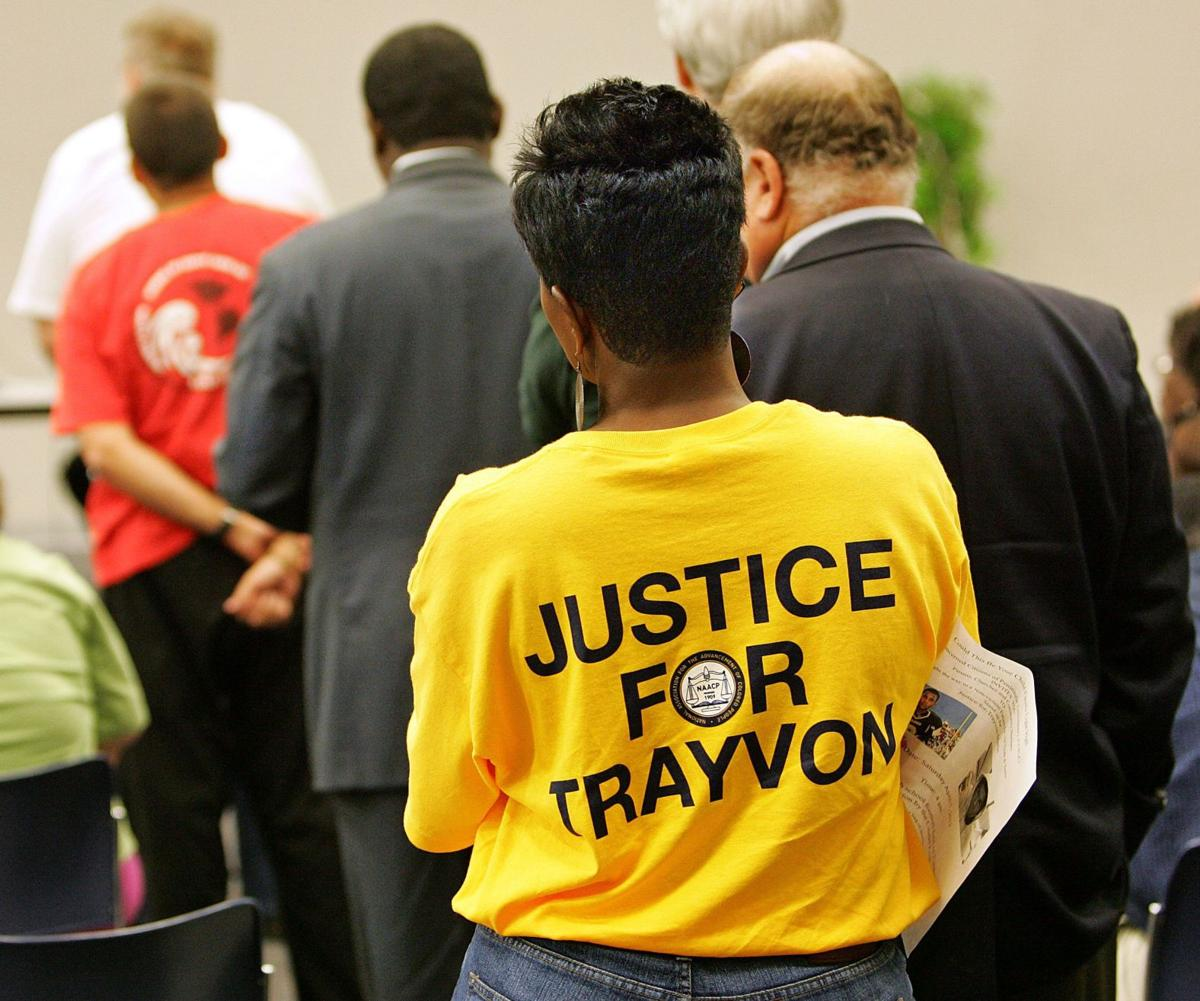 Rally to remember Trayvon Martin this afternoon at Marion Square