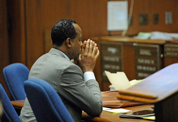 Conrad Murray declines to testify at trial