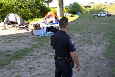 Charleston's Tent City down to just a few residents who will all be gone by Friday