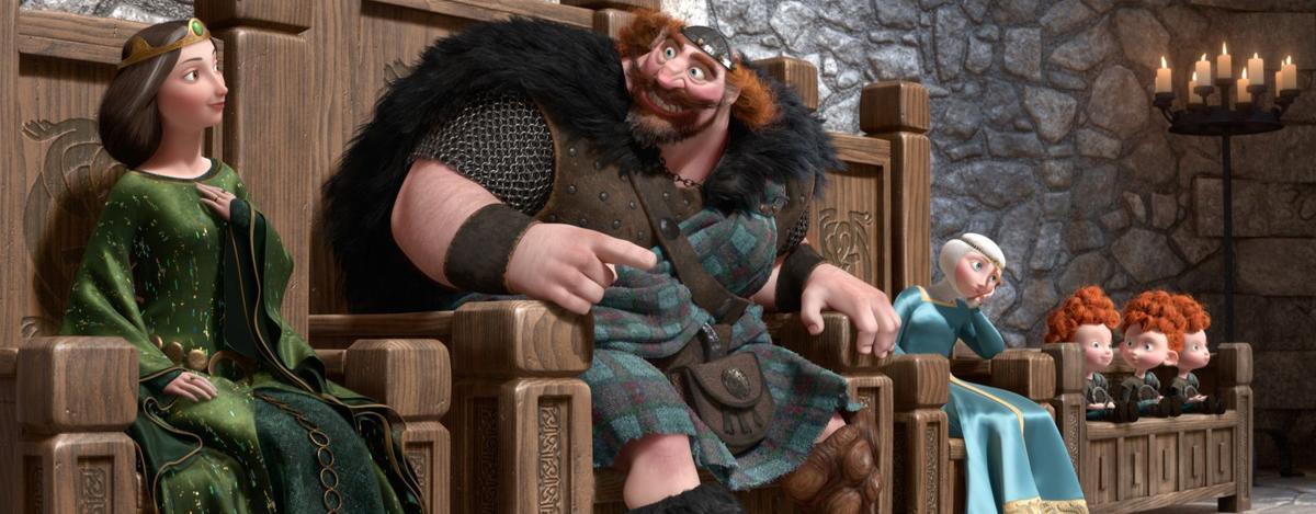 Disney's latest princess is Scottish, feisty, 'Brave'