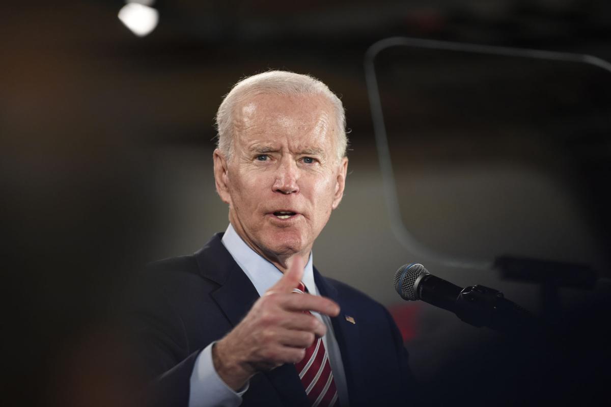 Election 2020 Joe Biden in Columbia (copy)