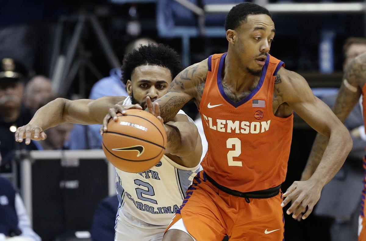 Clemson North Carolina Basketball