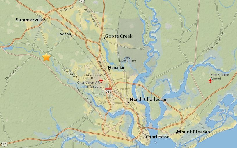 Did you feel that? Small earthquake shakes area near Summerville