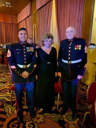 Summerville Marine veteran helps marine widow