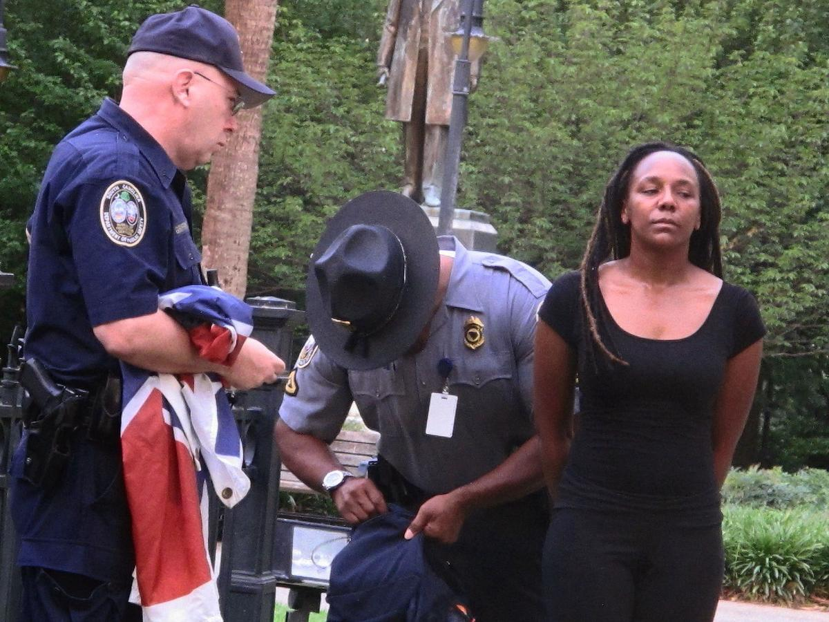 Bree Newsome in Columbia