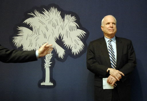 Adwatch: McCain focuses on war record in latest South Carolina ad