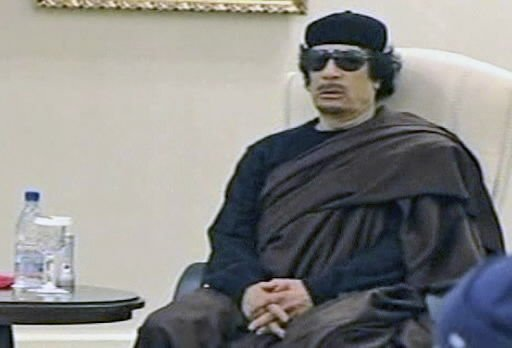 NATO strikes Libyan capital after Gadhafi appears