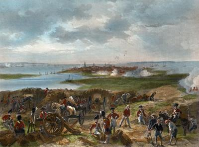 1780 –The Seige of Charlestown.