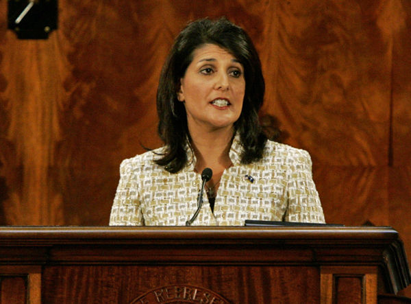 Haley focuses on port, jobs in State of the State address