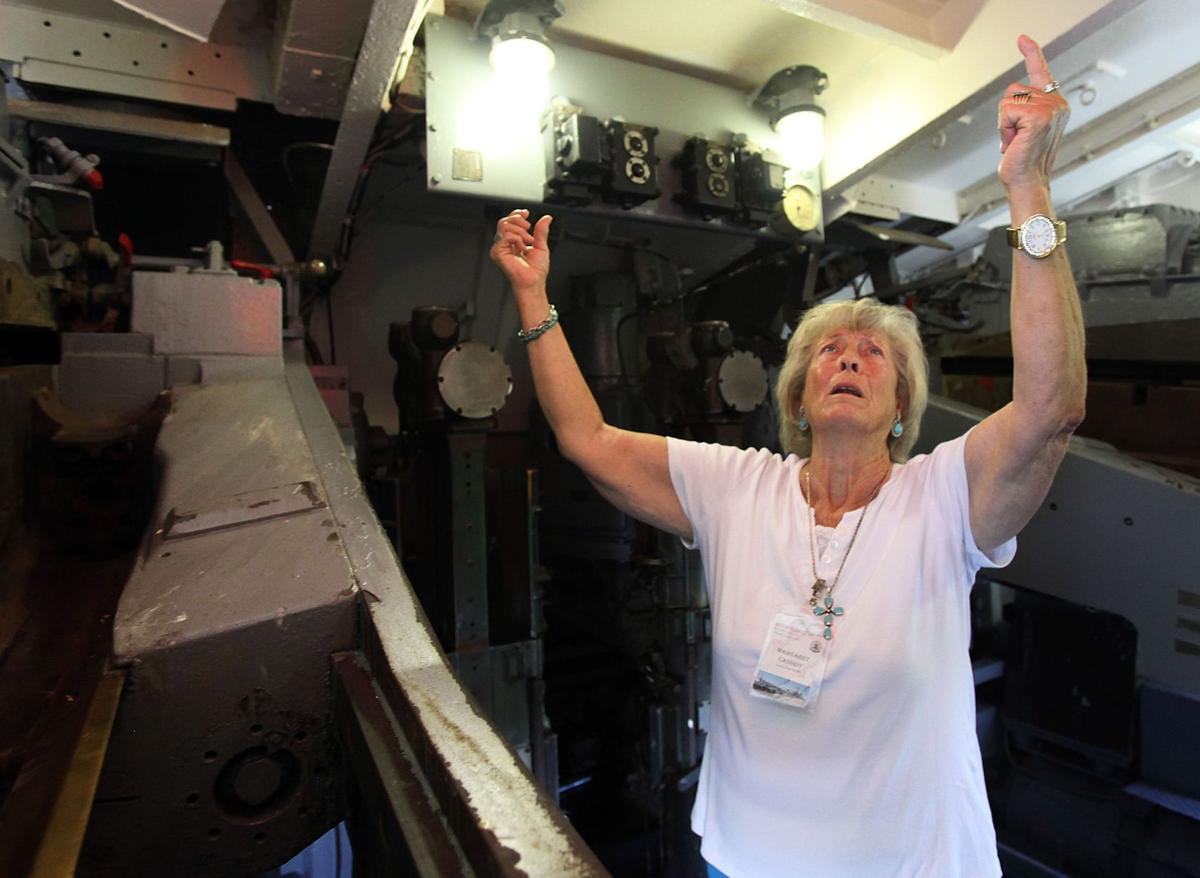 The love that would not die: World War II widow visits Laffey, where her husband died