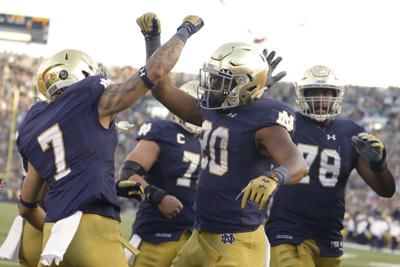 The Hangover, Part IV: Scouting Notre Dame