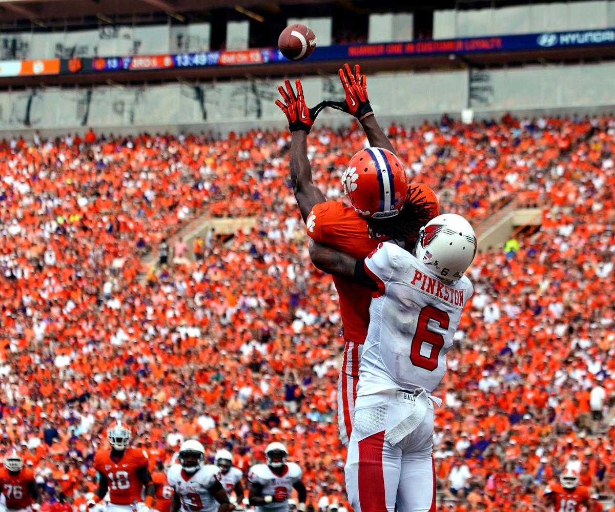 Clemson overpowers Ball State