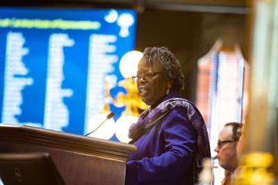 Gilda Cobb-Hunter as the House's temporary chairwoman